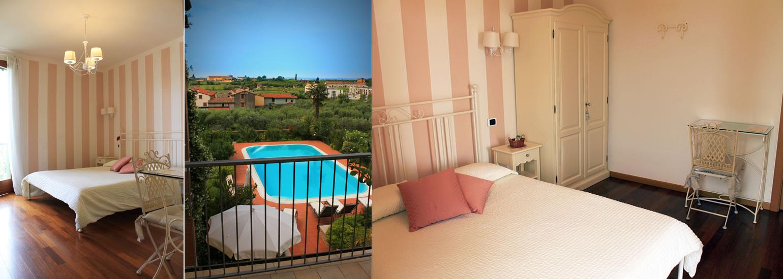 Stanza doppia con terrazzo bed and breakfast agriturismo - Agriturismo bardolino con piscina ...